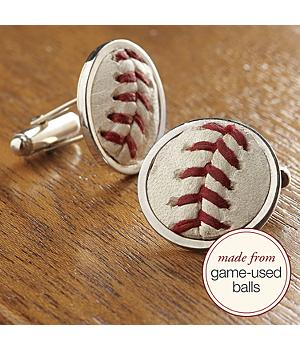 MLB™ baseball stitches cuff links