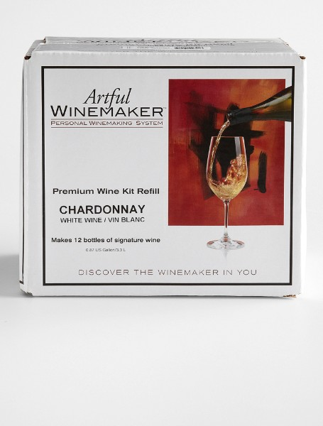 wine making kit refills - chardonnay