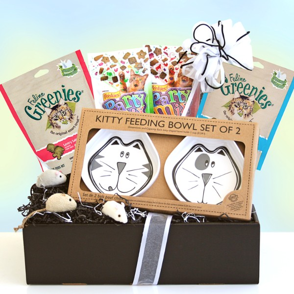 I Love Cats! Gift Basket