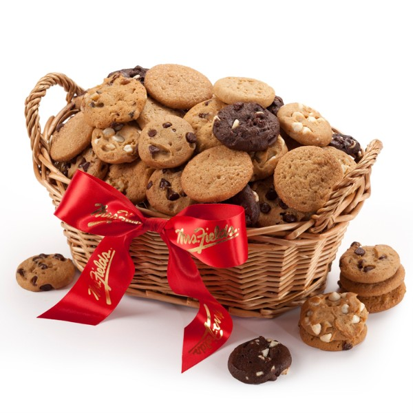 Mrs. Fields Cookie Basket - 60 Nibblers