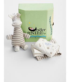 organic new baby gift set