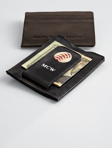 Personalized MLB Team Money Clip/Wallet