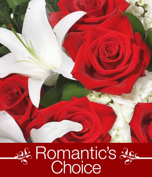 ProFlowers - Romantic's Choice with FREE Vase, Chocolates & Bear