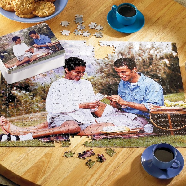 Personalized 11 x 14 - 252 Piece Photo Puzzle