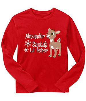 Rudolph Characters - Toddler And Youth Long Sleeve T-Shirts