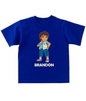 Personalized Go Diego Short Sleeve T-Shirt - S (6-8)