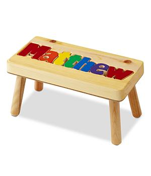 Kids Puzzle - Name Stool - Primary