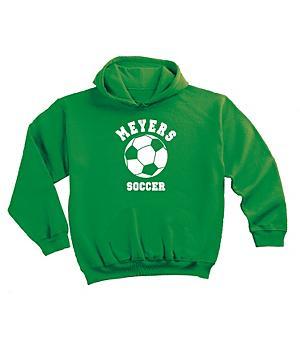 Sports Hoodie - Kelly - 4T