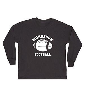 Sports Youth LS T-shirt-Black-L(14-16)