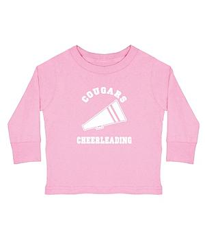 Sports Youth LS T-shirt-Pink-S(6-8)