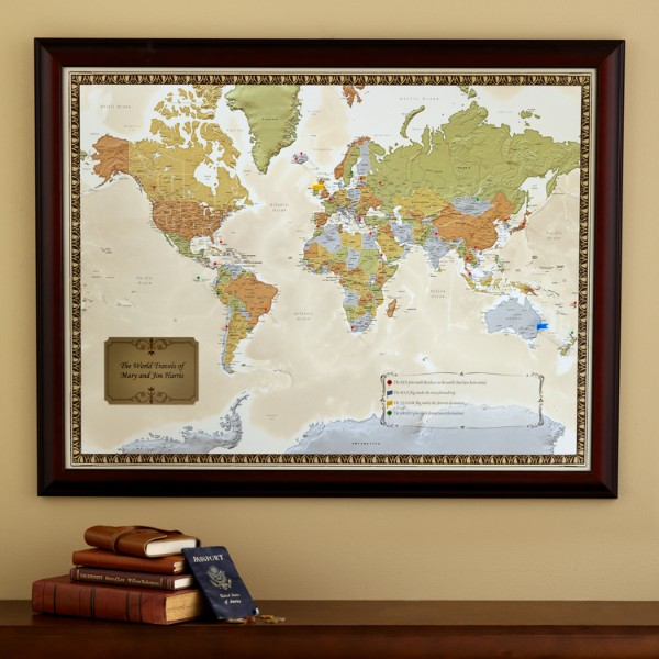 Pin Your Journey Personalized Travel Destination Maps