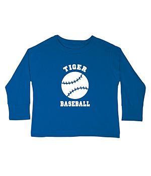 Sports Youth LS T-shirt-RoyalBlue-S(6-8)