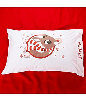 Rudolph Pillowcase