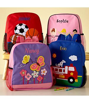 Personalized Backpacks for Kids - 4 Themes
