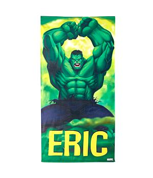 Personalized Hulk Beach Towel