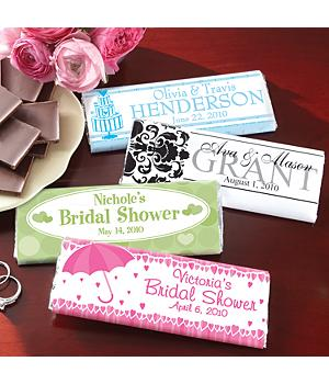 Polka Dot and Hearts Candy Bar Wrappers (30)