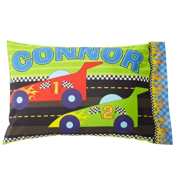 Nap Time Pillowcase - Race Car