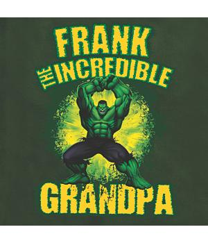 Personalized Marvel Comics The Incredible Hulk Adult and Child T-Shirt