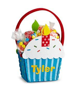 Cupcake Gift Basket - Boy