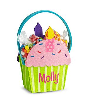 Cupcake Gift Basket - Girl