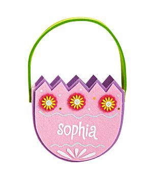 Springtime Egg Basket - Pink