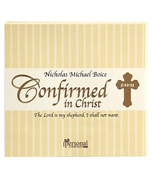 Confirmation Candy Bar Wrappers - Set of 30