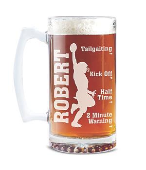 Sportsaholic Beer Mug - Football