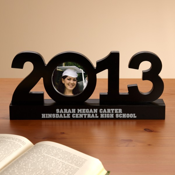 Personalized 2013 Graduation Frame Sculpture - Graduation Gift
