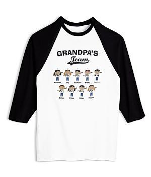Team Baseball Buddies Adult Black Jersey-SM