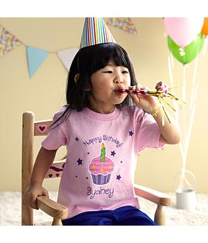 Cupcake Birthday Apparel