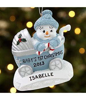 The Original Snow Buddies™ Baby's First Ornament