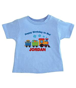 Train Birthday Apparel