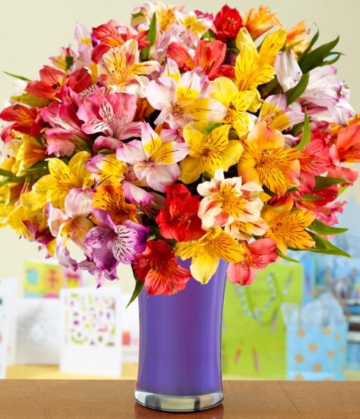 100 Birthday Blooms