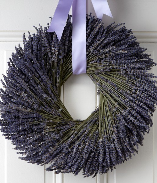 Love and Lavender Wreath- Preserved