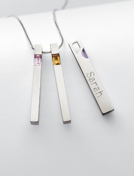 Personalized Milestones Necklace