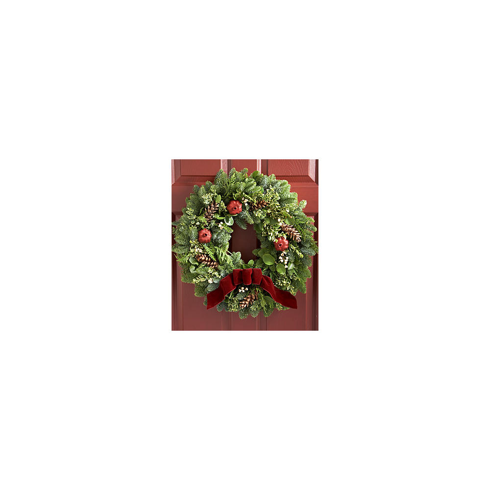 "House Plants - 22"" Victorian Wreath"