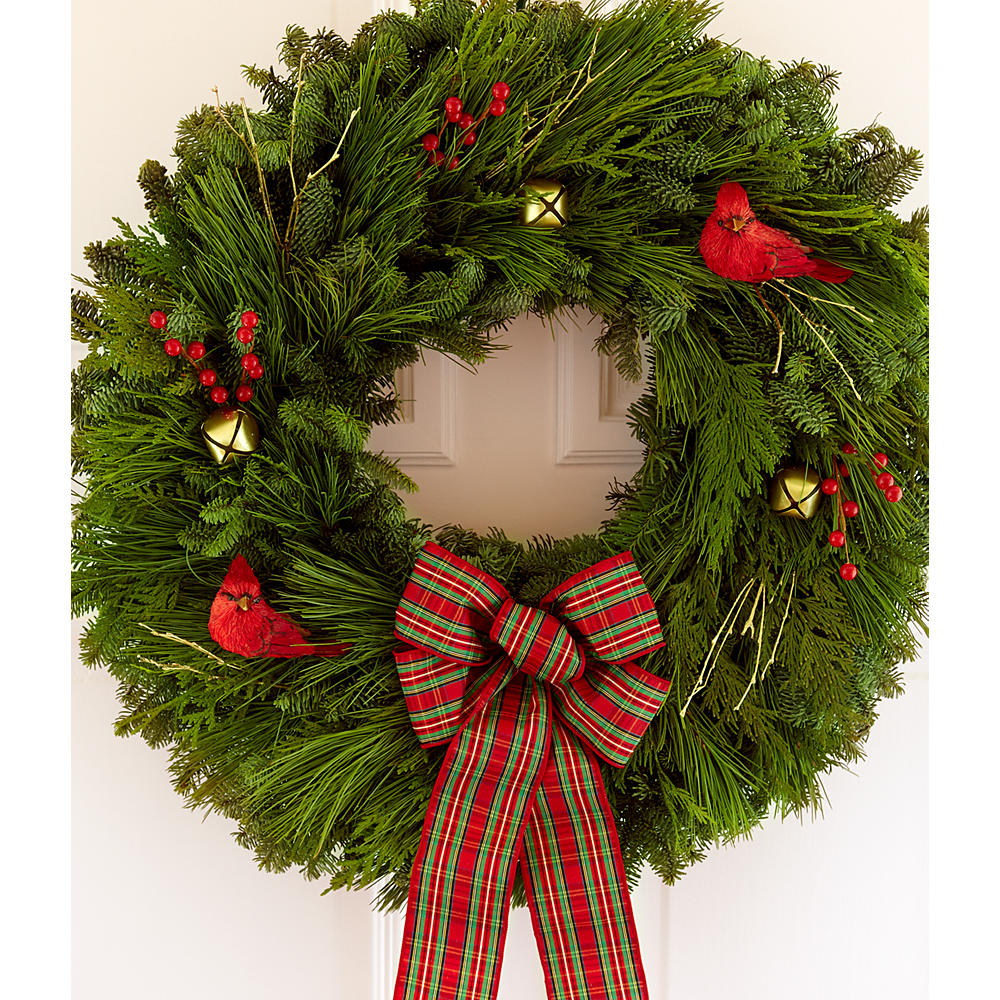 "22"" Country Christmas Wreath"