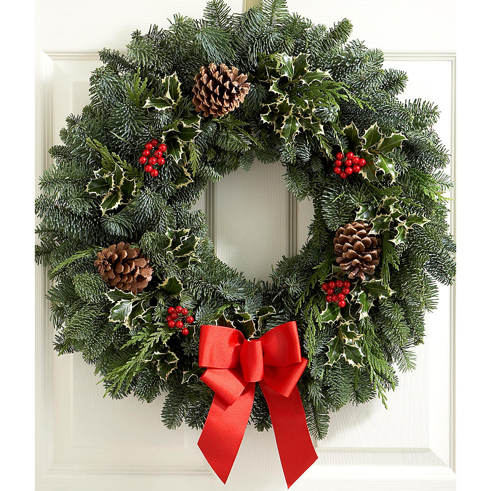 "22"" Deck the Halls Wreath"