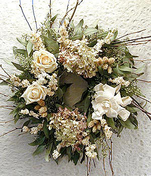 Sympathy Wreath - Preserved