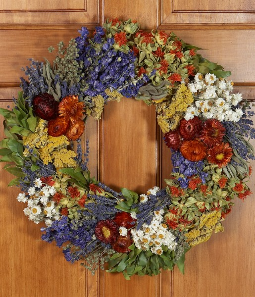 Fields of Tuscany Wreath - Preserved