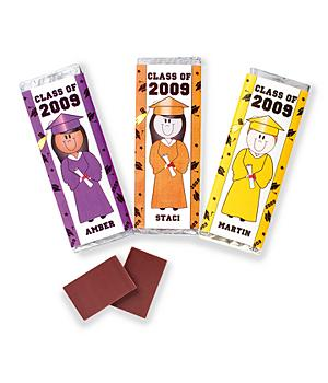 Graduation Candy Bar Wrappers - Purple - Set of 30