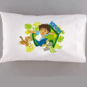 Personalized Diego Pillowcase